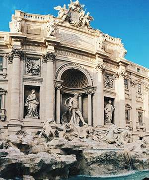 Rutgers Global – Study Abroad in Italy, Trevi Fountain