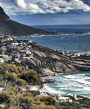 Rutgers Global – Study Abroad in South Africa, Camps Bay from top