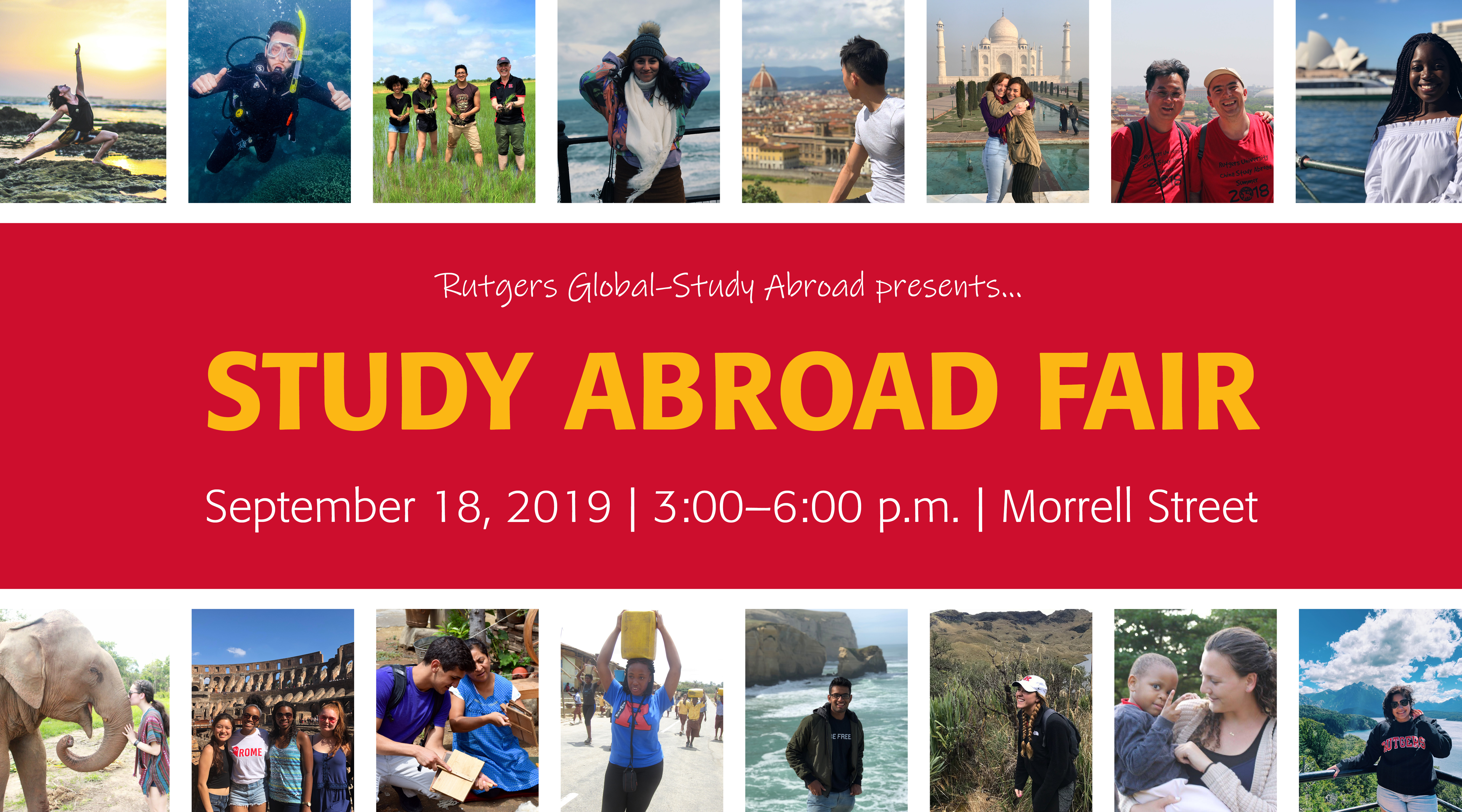 Fall 2019 Study Abroad Fair | Rutgers