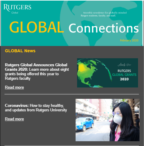 Thumbnail of February 2020 Global Connections Newsletter