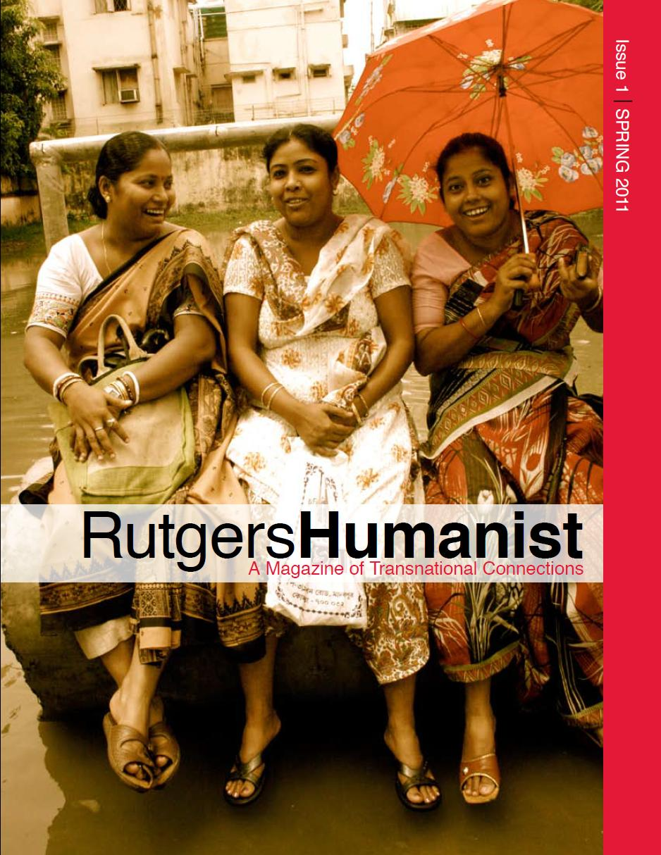 Rutgers Humanist Cover