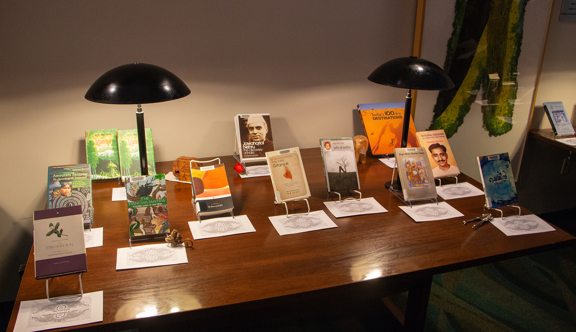 India Corner Book Display