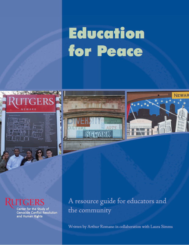 Peace Education Booklet Cover