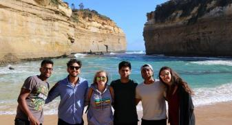 Matt is traveling around Australia and is at the Great Ocean Road in Melbourne