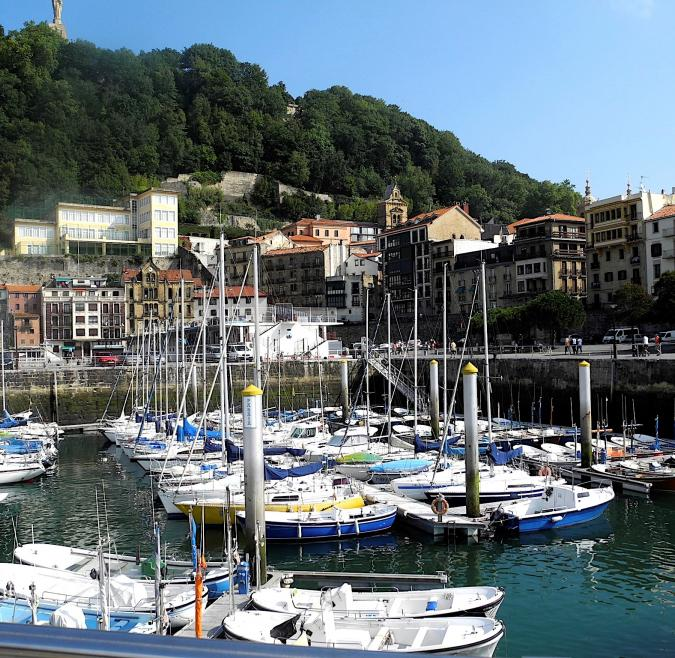 Boats in San Sebastian