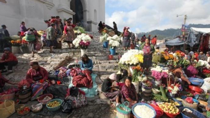 Market in Chichicastenango