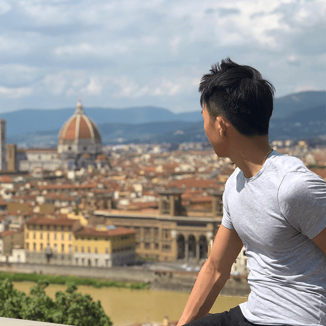 Rutgers Global - Student Stories about Culture, Michael Louie in Italy