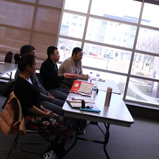 Rutgers Global - Short-term Nondegree Programs, students in class