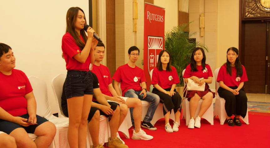 Rutgers Global - International Student Pre-Departure Orientation