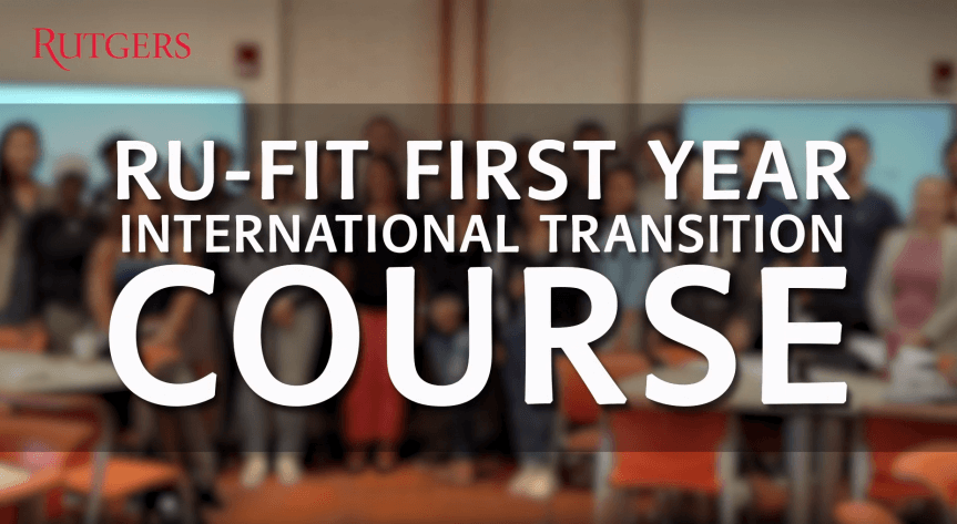 RU-FIT First Year Course Video Thumbnail Image