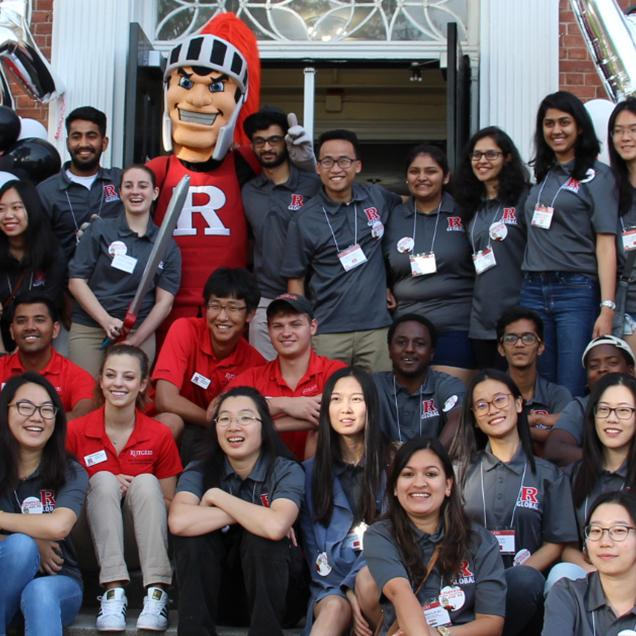 Rutgers Global - International Student Orientation Volunteers