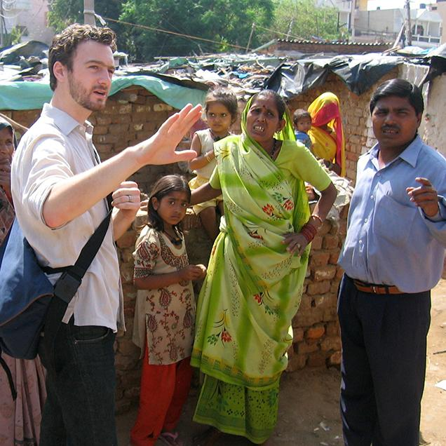 Rutgers Global – GAIA Grants, Dr. Asher Ghertner works with partners and locals in India on a collaborative research project