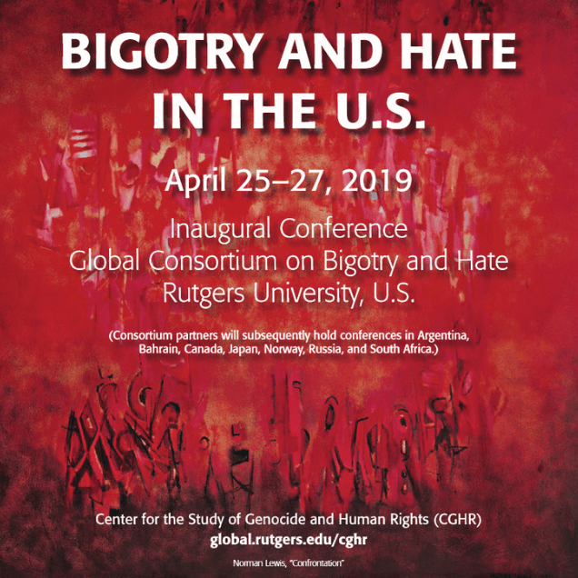 Center for the Study of Genocide and Human Rights, Bigotry & Hate